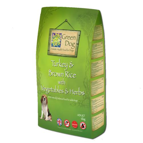 Greendog Turkey & Brown Rice Dry Adult Dog Food