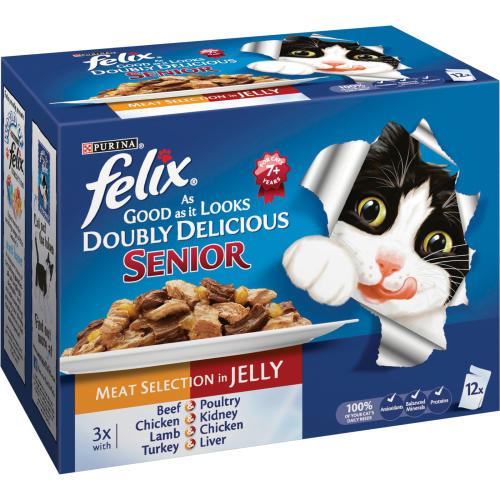 Felix As Good As It Looks Doubly Delicious Senior Cat Food