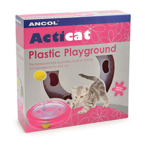 Ancol Acticat Plastic Playground Cat Toy