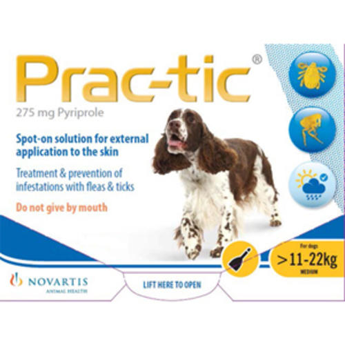 Prac-tic Spot On Flea Treatments for Dogs