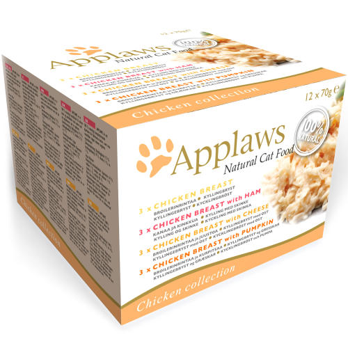 Applaws Chicken Collection Multipack Can Adult Cat Food
