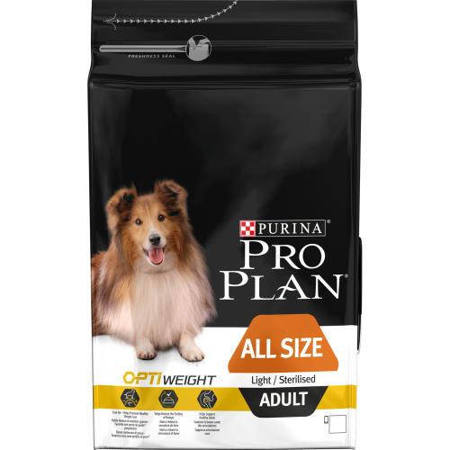 PRO PLAN OPTIWEIGHT Light & Sterilised Chicken Adult Dog Food
