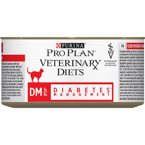 PURINA VETERINARY DIETS Feline DM ST OX Diabetes Management Food