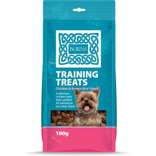 Burns Chicken & Brown Rice Dog Training Treats