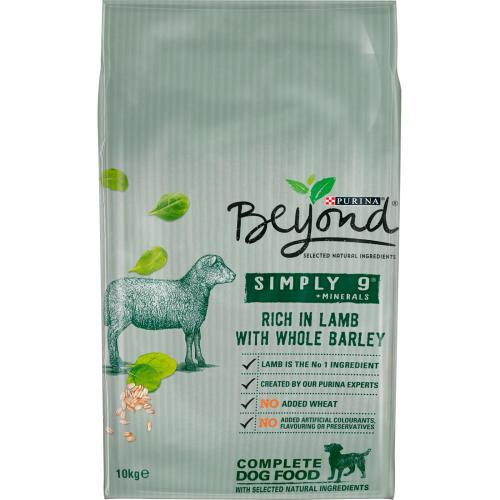 Purina Beyond Simply 9 Lamb & Barley Adult Dog Food
