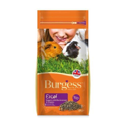 Burgess Excel Nuggets Blackcurrant & Oregano Guinea Pig Food