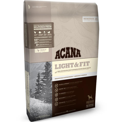 Acana Heritage Light And Fit Adult Dog Food