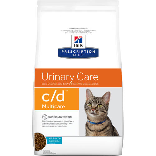 Hills Prescription Diet CD Multicare Urinary Care Dry Cat Food Ocean Fish