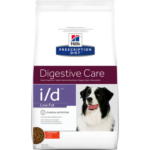 Hills Prescription Diet ID Low Fat Digestive Care Chicken Dry Dog Food