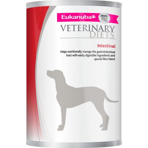 Eukanuba Veterinary Intestinal Adult Dog Food Tins