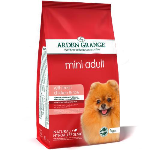 Arden Grange Mini Chicken & Rice Adult Dog Food