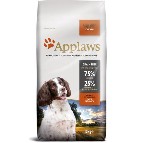 Applaws Chicken Small & Medium Breed Dry Adult Dog Food