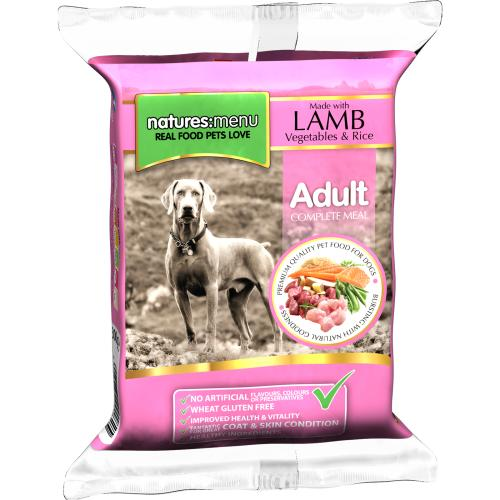 Natures Menu Complete Lamb Raw Frozen Mince Dog Food