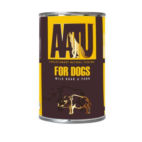 AATU Wild Boar & Pork Wet Dog Food