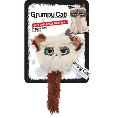 Grumpy Cat Fluffy Cat Toy