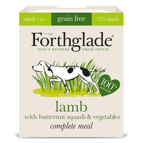 Forthglade Complete Grain Free Lamb Butternut Squash Veg & Adult Dog Food