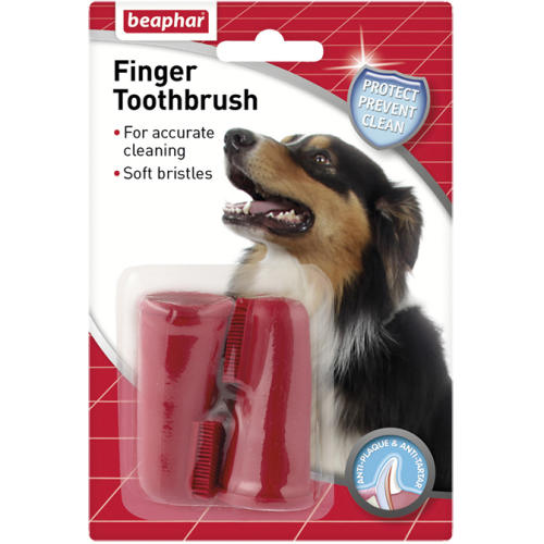 Beaphar Finger Toothbrush Twin Pack