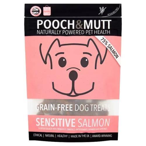 Pooch & Mutt Sensitive Salmon Grain Free Dog Treats