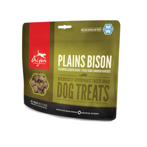 Orijen Freeze Dried Alberta Bison Dog Treats