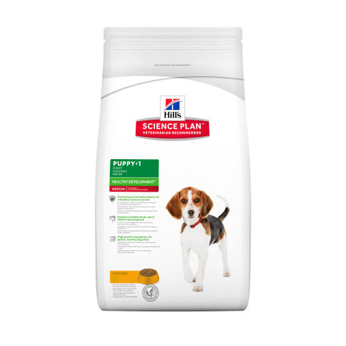 Hills Science Plan Medium Breed Puppy Chicken Dry Dog Food