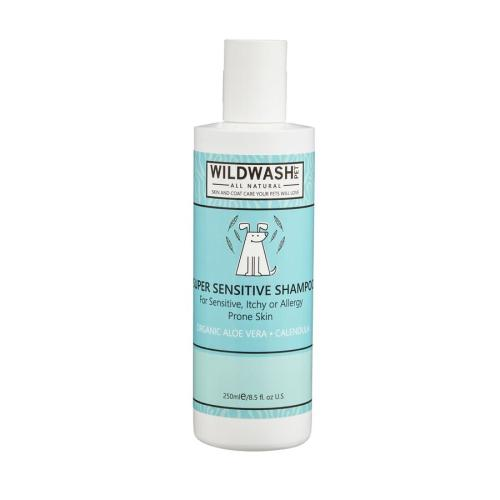 Wild Wash Pet Super Sensitive Shampoo for Dogs