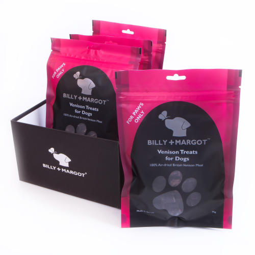 Billy & Margot Venison Treats for Dogs
