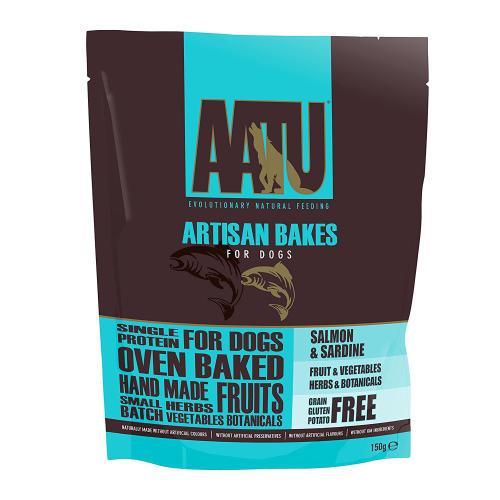 AATU Salmon & Sardine Artisan Bakes Dog Treats