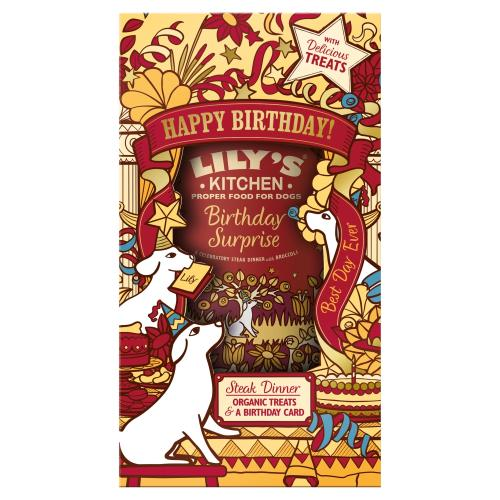 Lilys Kitchen Birthday Surprise Gift Pack for Dogs
