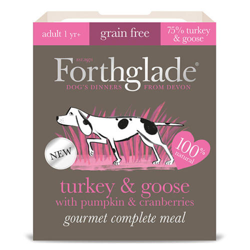 Forthglade Gourmet Turkey & Goose with Pumpkin & Cranberry Adult Dog Food