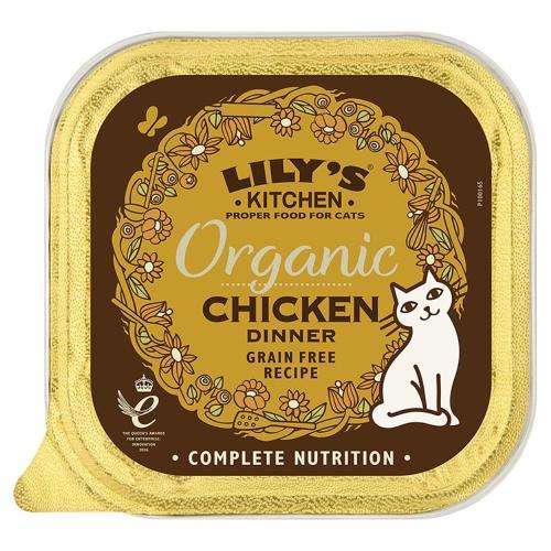 Lilys Kitchen Organic Chicken Dinner Complete Wet Cat Food