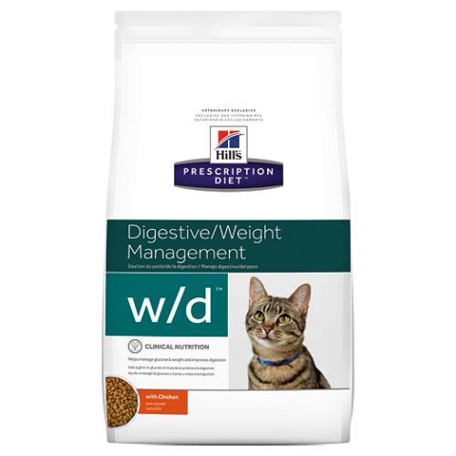Hills Prescription Diet WD Digestive & Weight Dry Cat Food Chicken