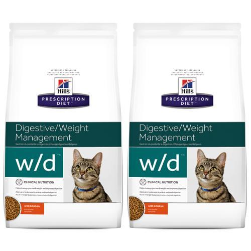 Hills Prescription Diet Feline WD Weight Management Dry Cat Food