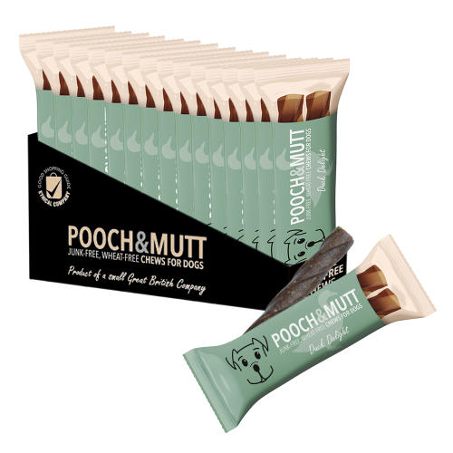 Pooch & Mutt Duck Delight Junk Free Chews Dog Treats