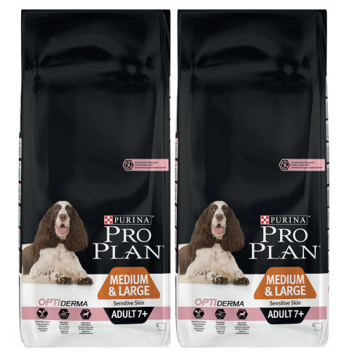 PRO PLAN OPTIDERMA Salmon Sensitive Skin Medium Adult 7+ Dog Food