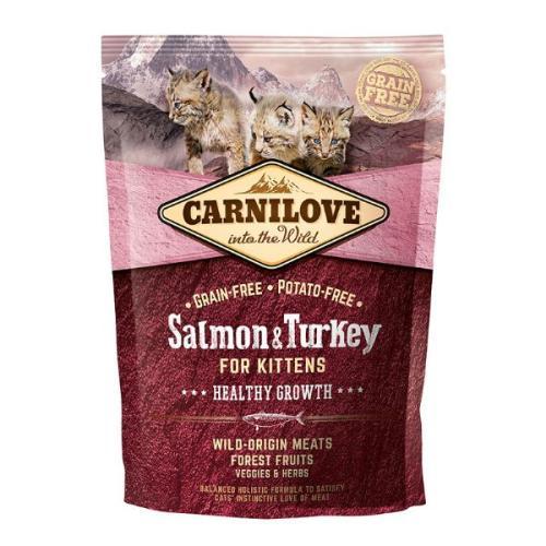 Carnilove Healthy Growth Salmon & Turkey Kitten Food