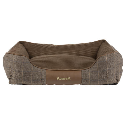 Scruffs Windsor Box Dog Bed in Chestnut