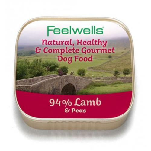 Feelwells Lamb & Pea Wet Dog Food