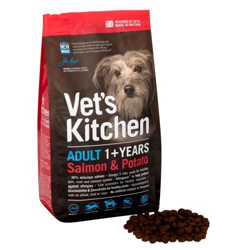 Vets Kitchen Adult Salmon & Potato Dog Food
