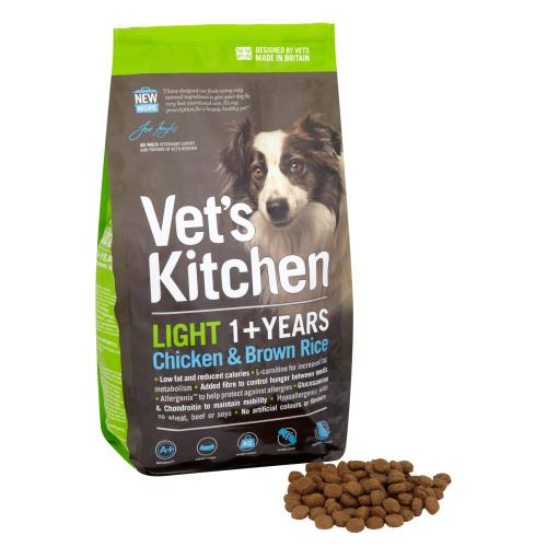 Vets Kitchen Light Dog Chicken & Brown Rice Adult Dog Food