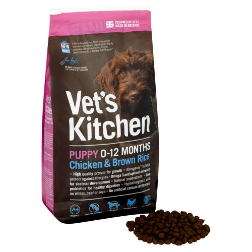 Vets Kitchen Puppy Chicken & Brown Rice Dog Food