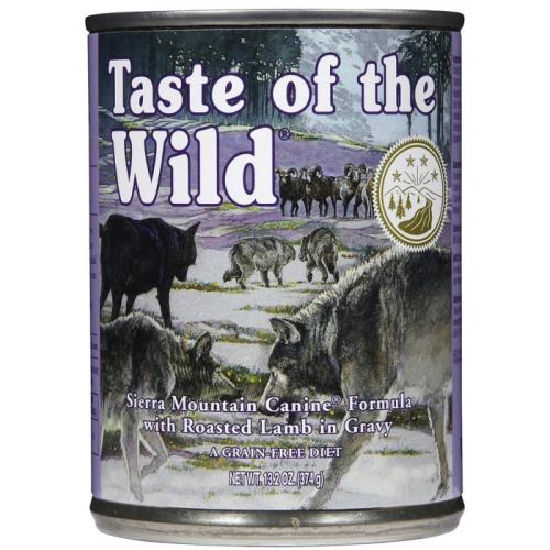 Taste Of The Wild Sierra Mountain In Gravy Adult Dog Food