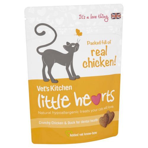 Vets Kitchen Little Hearts Chicken Cat Treats