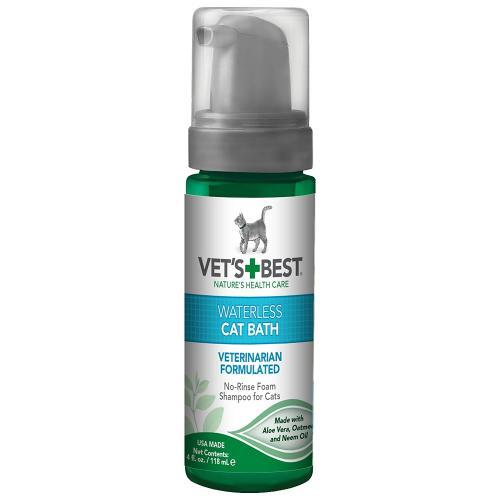 Vets Best Waterless Cat Bath Shampoo