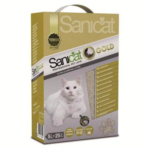 Sanicat Gold Clumping Cat Litter