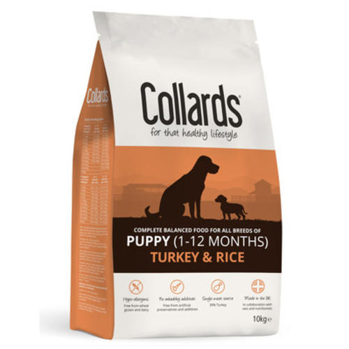Collards Turkey & Rice Puppy Food