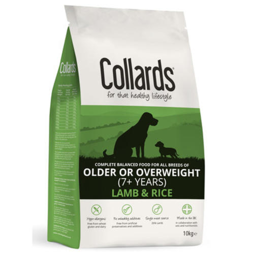 Collards Lamb Rice Senior Light Dog Food