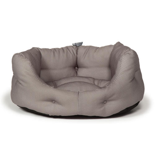 Danish Design Vintage Dogstooth Deluxe Slumber Dog Bed