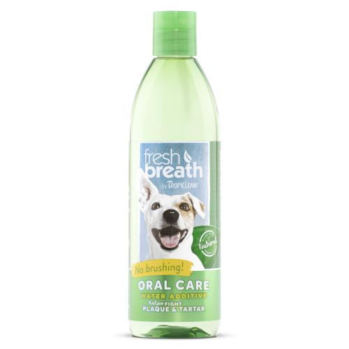 Tropiclean Fresh Breath Water Additive for Cats & Dogs