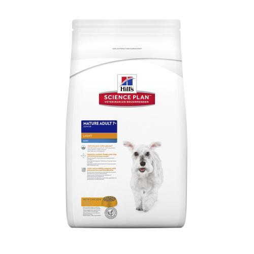 Hills Science Plan Canine Mature 7+ Active Longevity Mini Light