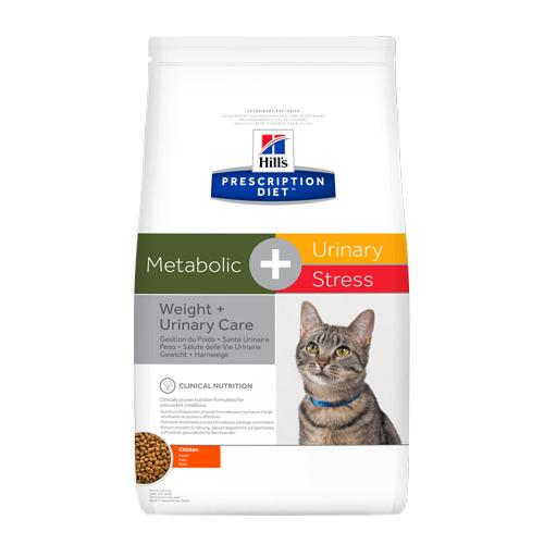 Hills Prescription Diet Feline Metabolic + Urinary Stress Cat Food